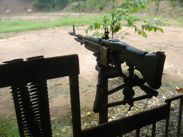 M60 Assault Machine Gun Cu Chi Vietnam
