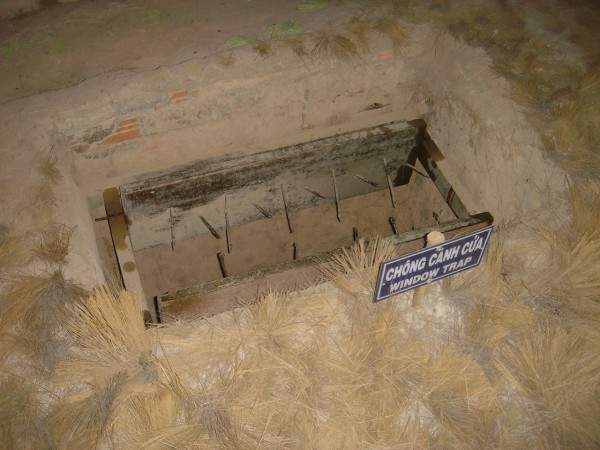 Window Trap Cu Chi Tunnels