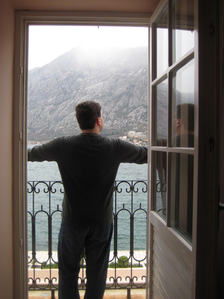 Bay of Kotor Montenegro from Hotel Splendito