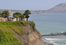 Cliffs of Miraflores Lima, Peru