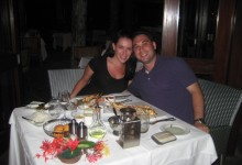 Dinner at Le Meridien Hotel Mahe Seychelles