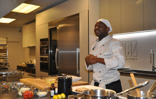 Chef Wamu from South Africa at De Gustibus New York City