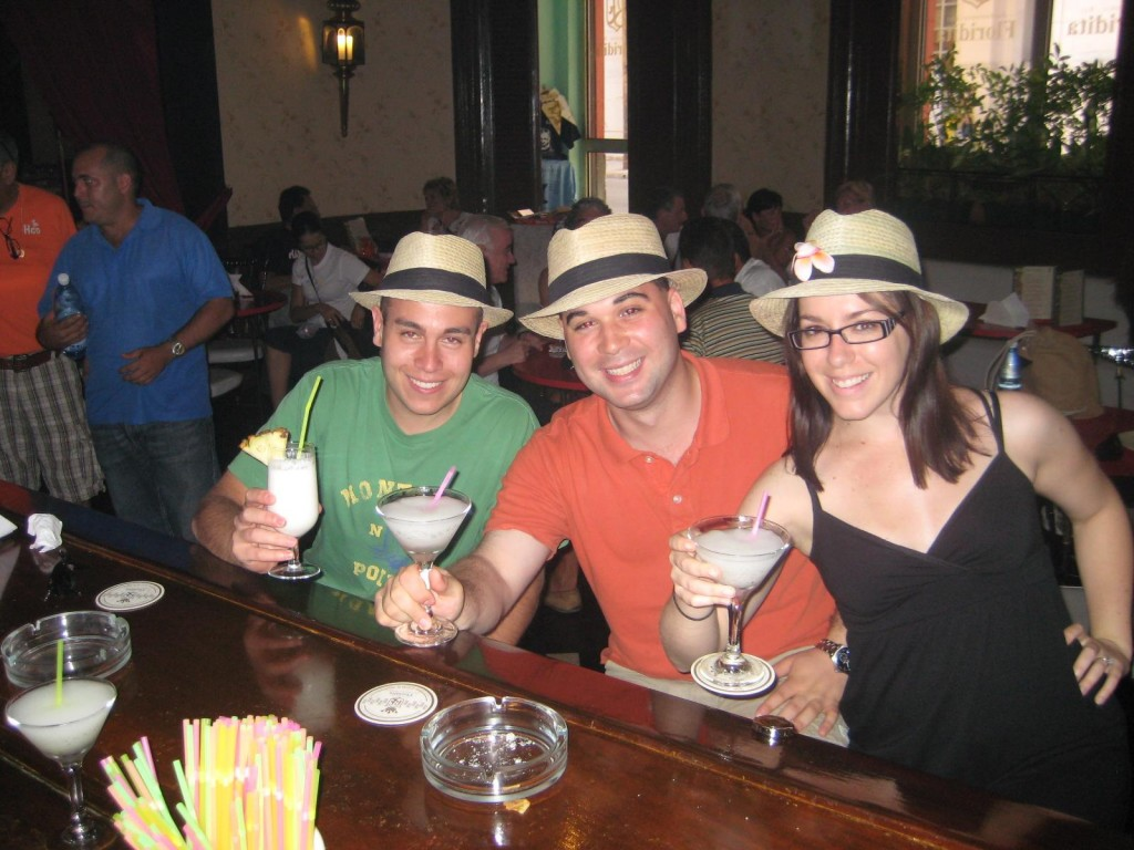 Daiquiris at the Floridita Havana Cuba