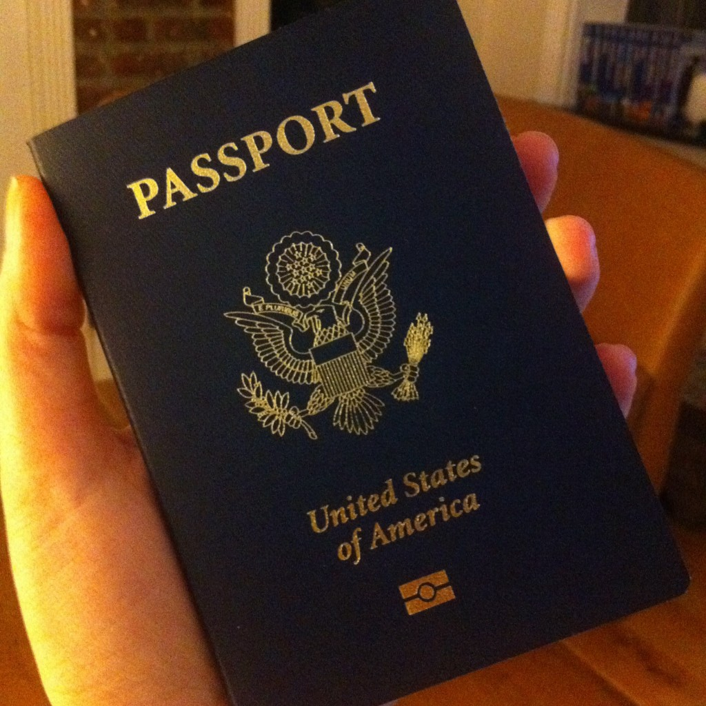 American Passport with chip