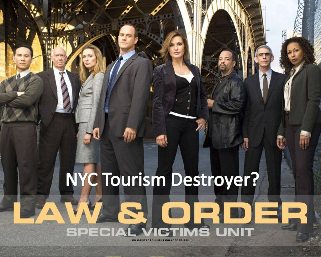 Law and Order bad for NYC tourism?