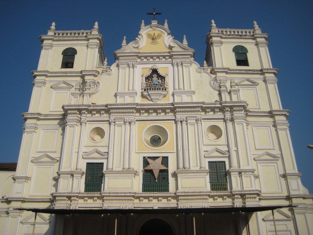 Holy Spirit Catholic Church in Goa, India