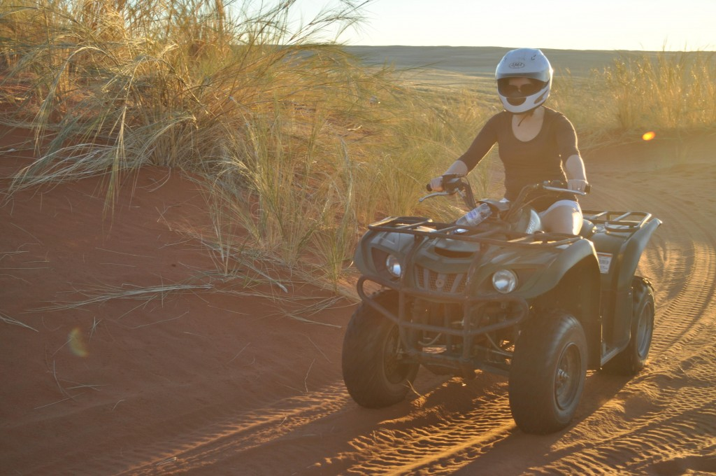 Namibia Sossusvlei Desert Lodge Quad Bike ATV