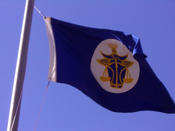 The flag of t he Principality of Hutt River
