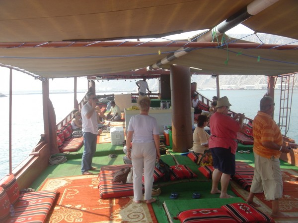 Live aboard an Omani dhow is pretty great