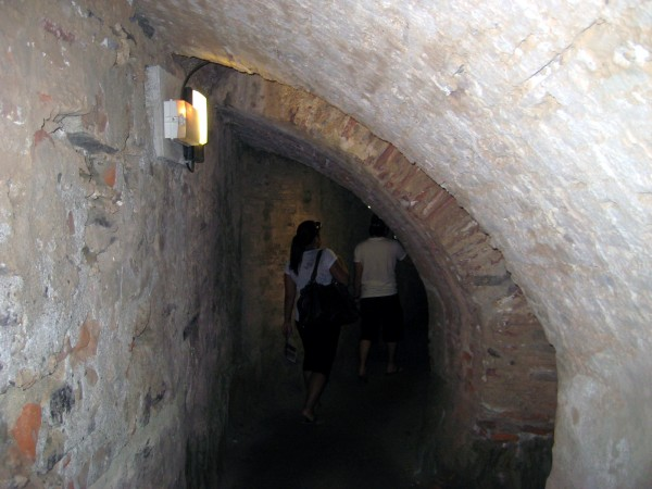 Château Royal de Collioure is a legit castle.  Check out these cook D shaped hallways!