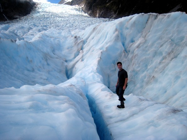 One wrong step while exploring and you may end in the bottom of an endless ice crevasse!