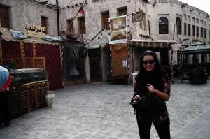 Chandra in Souq Waqif