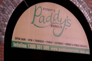 Paddy's Markets in Sydney Australia