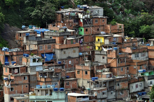 Rocinha favela - the largest in Rio