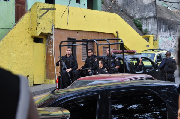 Street justice is no longer the law in Rocinha favela - now the police and military roam the streets.  Somehow this does not make you feel safer.