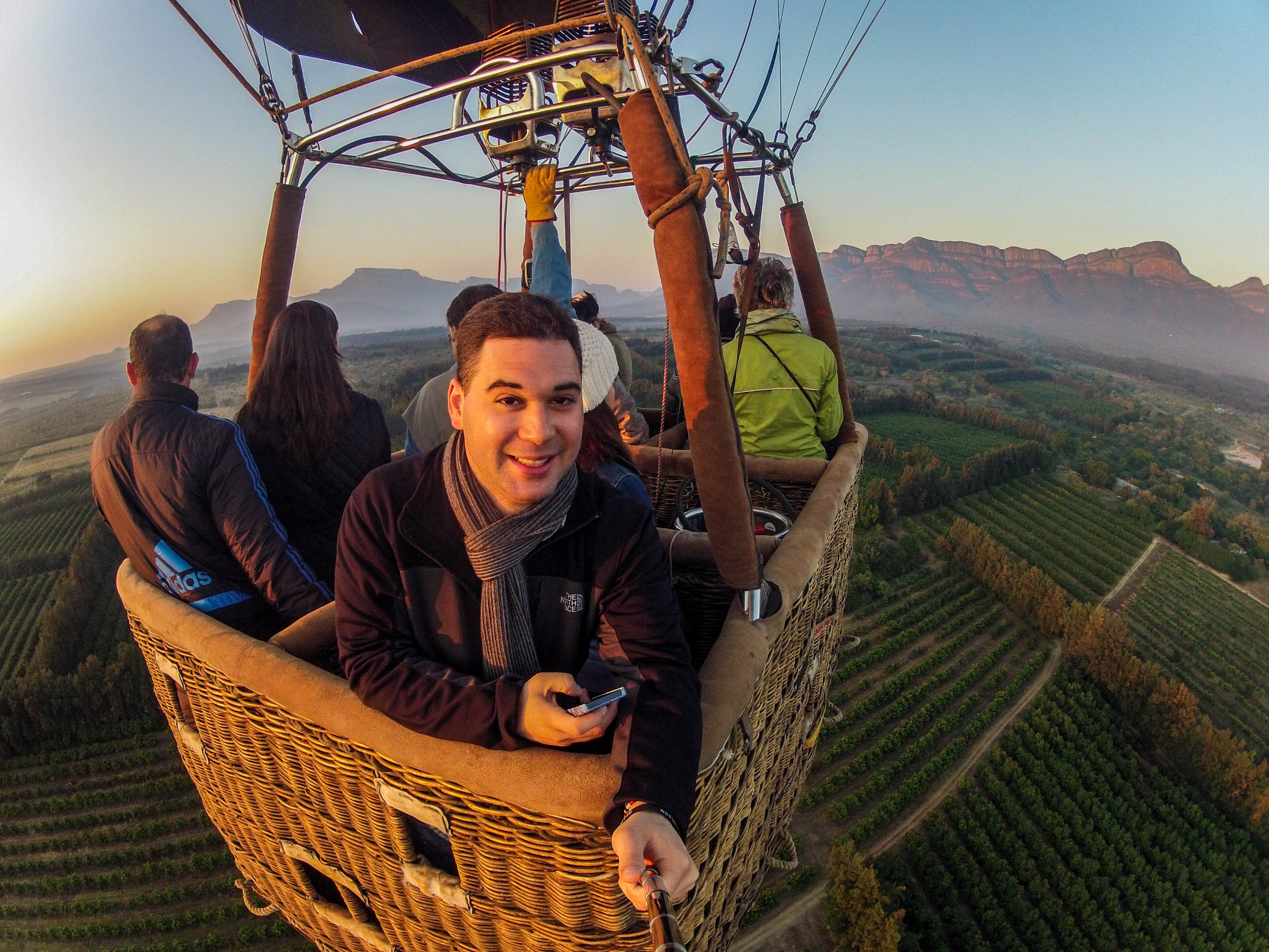 Hot Air Ballooning in South Africa - Style Hi Club