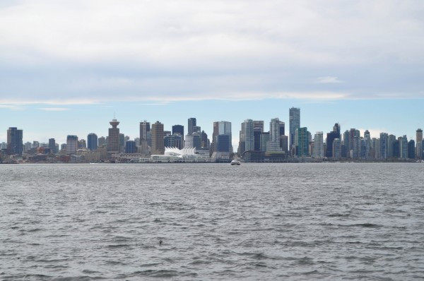 Vancouver Skyline from Ferry