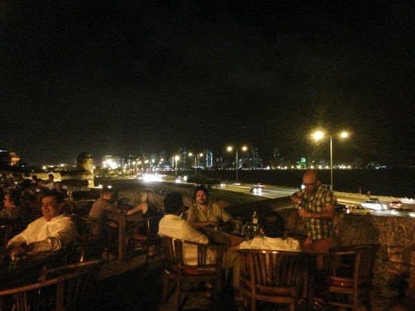 Perch yourself above the ramparts of the Old City and enjoy a drink at Cafe de Mar.