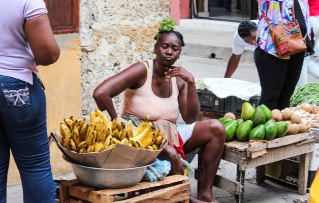 Street Vendors - Banana Woman