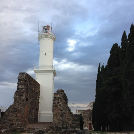 The lighthouse in Colonia Uruguay