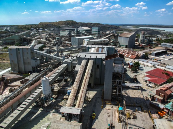 The Cullinan Diamond Mine in all it's industrial goodness