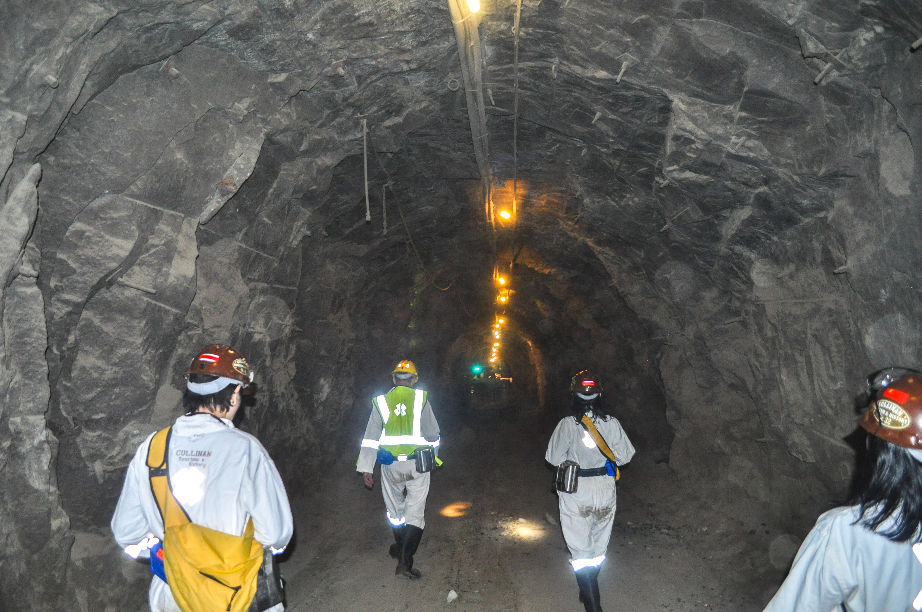 cullinan mine working underground of diamond tour premier a and