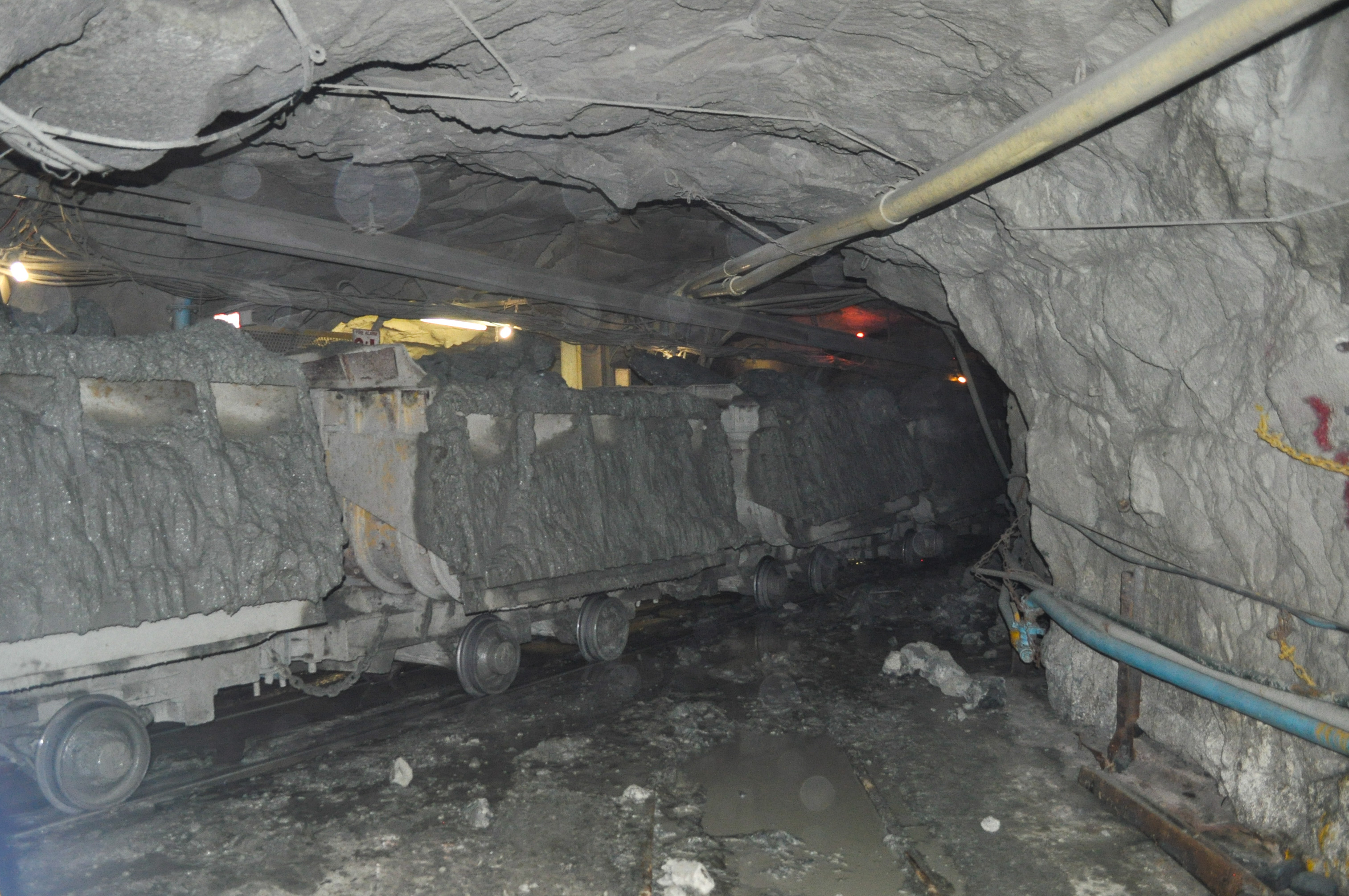 big stock the africa and kimberley photo underground south diamond pit mine open an hole