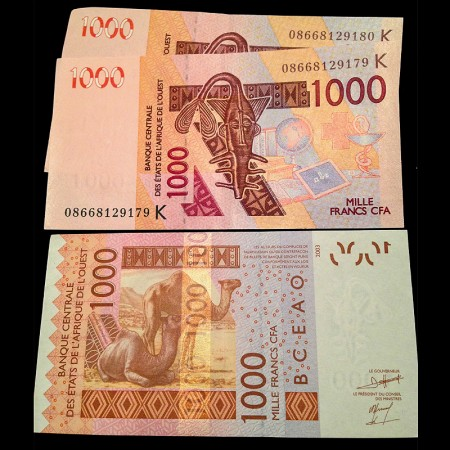 Central African CFA Francs