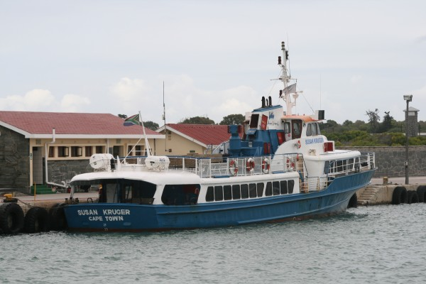 The Susan Kruger Robben Island ferry boat