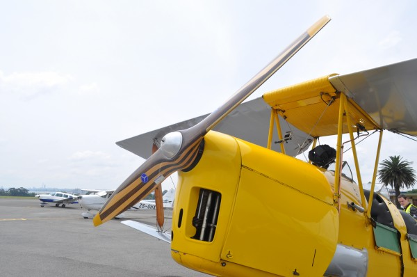 Tiger Moth Propeller
