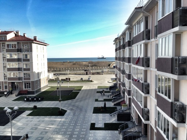Good morning Sochi! Looking out at the Black Sea to start the day