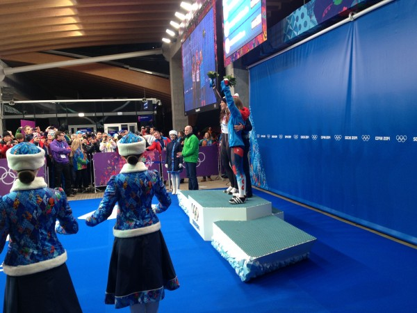 Flower ceremony for women's skeleton