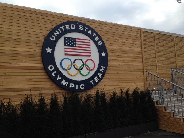 USA House on the Olympic Park