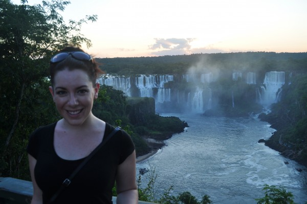 Iguazu Sunset from Brazil Chandra