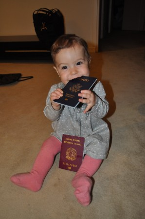 This girl knows how to use her two passports