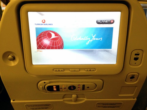 Turkish Airlines - Entertainment System