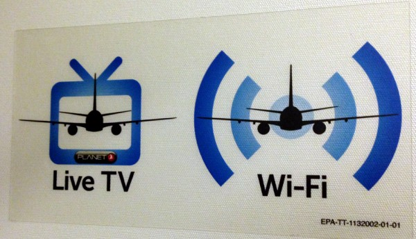 Turkish Airlines - TV & Wifi