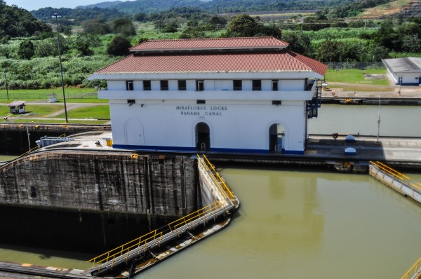Miraflores Locks are the hub of the 77km long Panama Canal