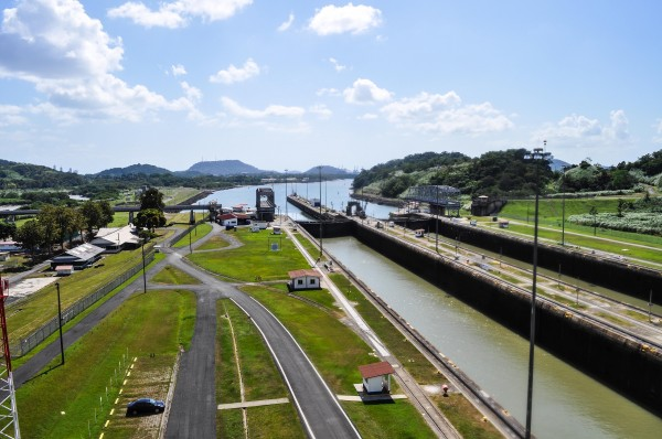 The Panama Canal!