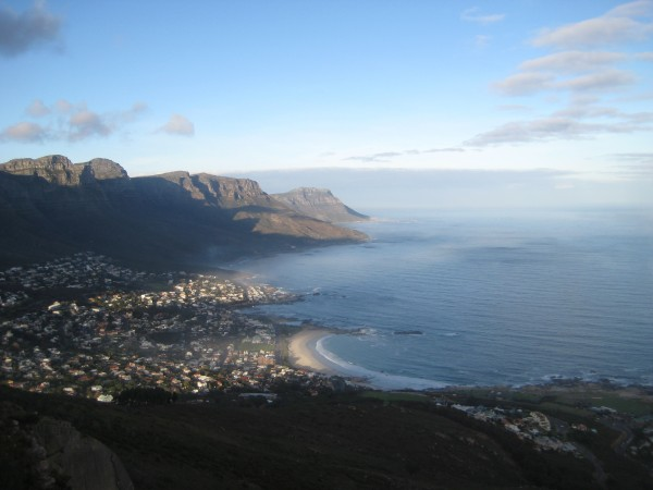 Camps Bay from Lions Head South Africa