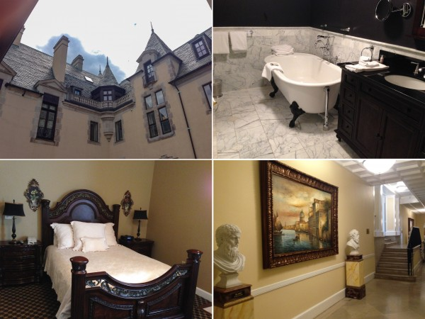 Some of the features of staying in the Castle