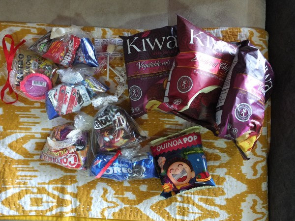 Snacks for carryon
