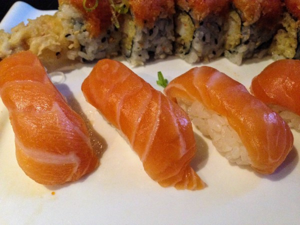 Sometimes the basics are the best - go for the salmon nigiri