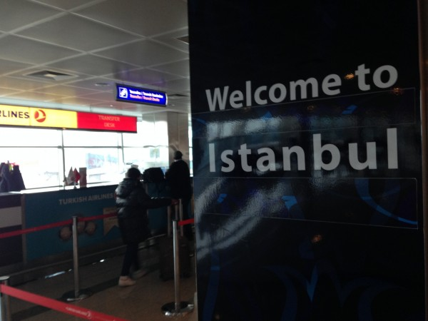 Welcome to Istanbul. You've earned zero miles coming here.
