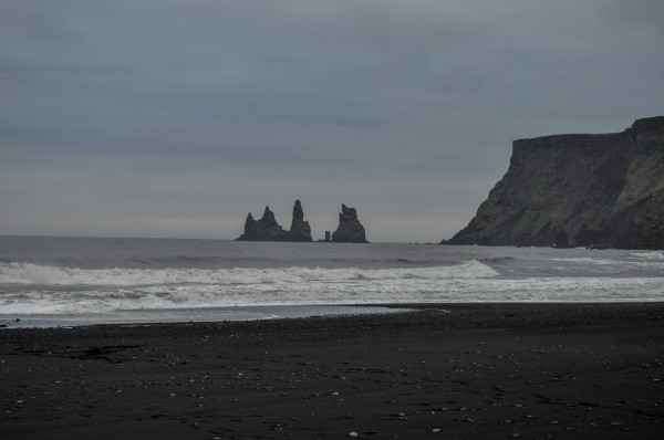 Reynisdiangur as seen from Vik.
