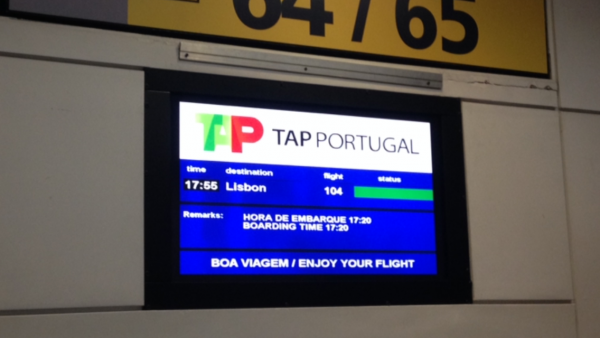 Welcome abroad TAP Portugal. What frequent flyer program? We don't know anything about that.