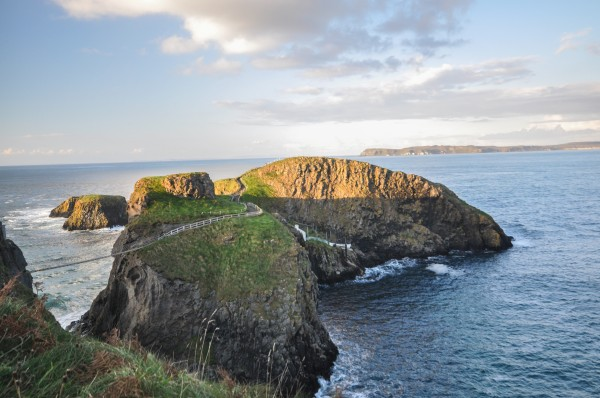 The stunning landscape of Carrick-a-Rede.