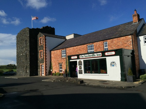 The Old Bushmills Inn is as quaint as it is delicious and for some unknown reason was even flying an American flag.