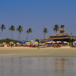 Restaurants on Benaulim Beach-2